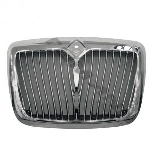 International Prostar Chrome Grille with Bug Screen. Fits Interntional Prostar Chrome Grille for 2008 & Up Models.