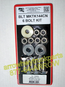 Bumper Bolt Kit - 6 Bolt