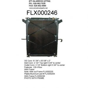 Freightliner Columbia / Century Class Radiator - 4 Row fits '03 - '07