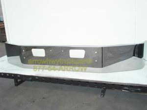 GMC / Chevrolet C6500, 7500, & C8500 Bumper: Chrome Steel, Fits '03 and Newer