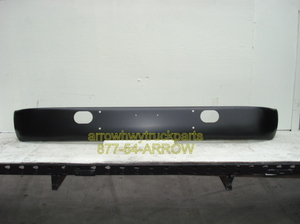 "International S1600, S1700, S1900, S2100, & S2300 ""Powder Coated"" Black Steel Bumper."