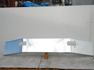 Mack Granite, CL700 Series Bumper: Chrome Steel