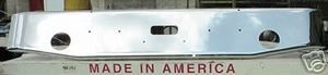 Peterbilt 362 Cabover Aftermarket Chrome Steel Bumper