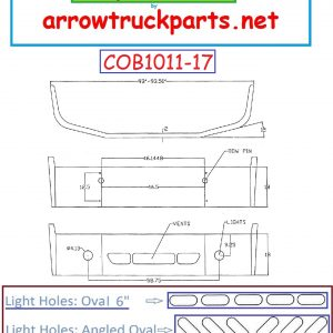 BumperMaker: Freightliner Century Class 2008 & Up Bumper (Chrom
