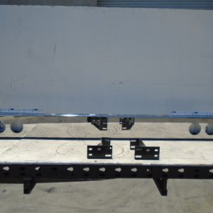 "Light Bar: Polished 8"" W/ Six 4"" Holes MAXXXX-80-R6C"