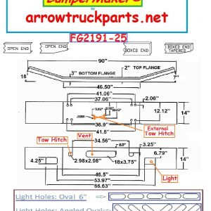 BumperMaker : Kenworth T800 1986 To 2003 (FG)