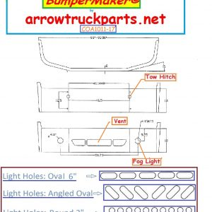 Freightliner Columbia 2008 & Up Bumper (Plastic Replacement)