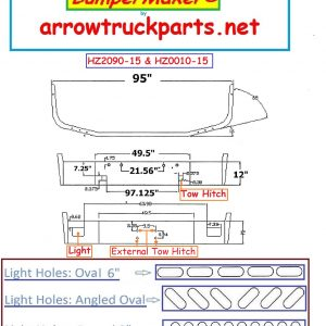 BumperMaker: Peterbilt 367 Set Back Axle 2007 & Newer