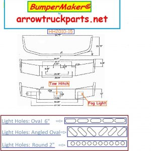 BumperMaker: Peterbilt 377 Set Back Axle 1987 To 1996