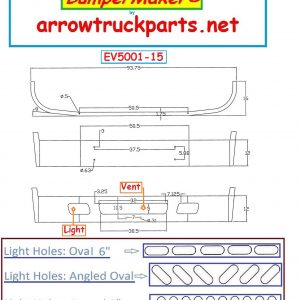 BumperMaker: International / Navistar 7400 Redesigned Bumper