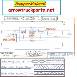 BumperMaker: International Paystar 5900I 2001 To 2011 Bumper