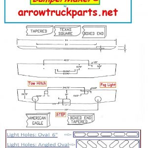 BumperMaker : Kenworth W900A 1967 To 1982
